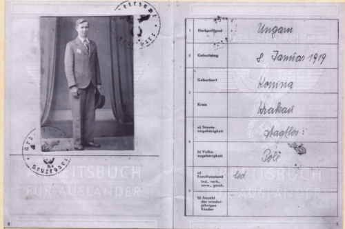 Jozef Wsol war passport