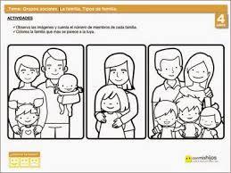 Image result for actividades sobre la familia