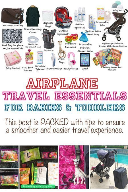 Flying With A Baby Travel Essentials And Flying With A Toddler Travel Tips International