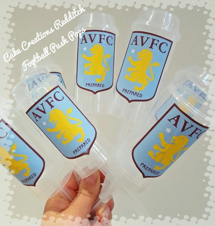 AVFC A PUSH POP PARTY BAG TREATS