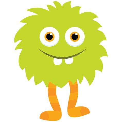 Little+Monster+Clipart_Green+Monster+2+by+Little+Apples+Design.png 1,600×1,600 pixels