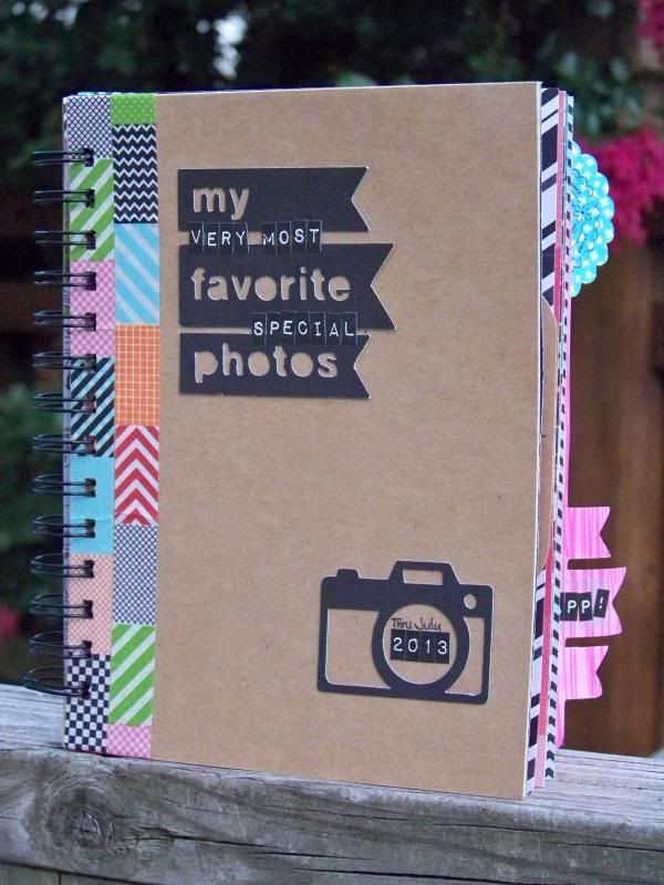 Con brillantes ojos: Artbooking - hecho a mano Foto Diario