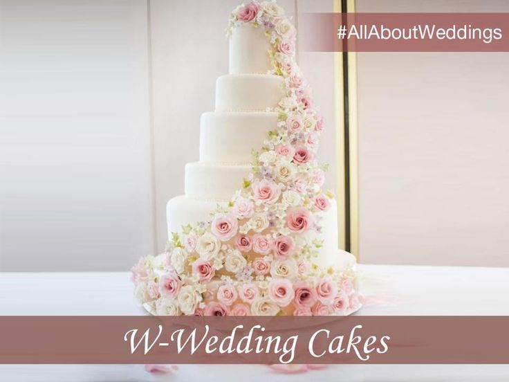 Every celebration calls for a cake! While selecting a wedding cake, pick one that complements the theme of the decor and the grandeur of the event.#AllAboutWeddings