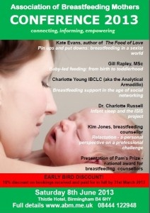 Association of Breastfeeding Mothers 2013 conference