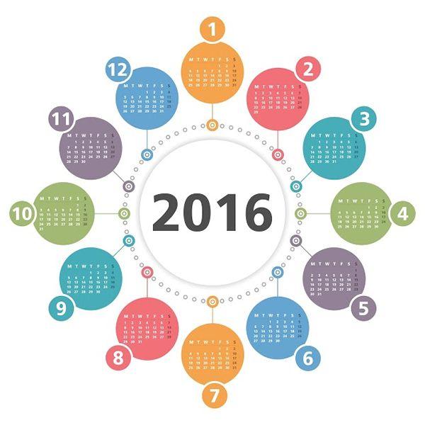 Consulta el calendario laboral para el 2016 en España
