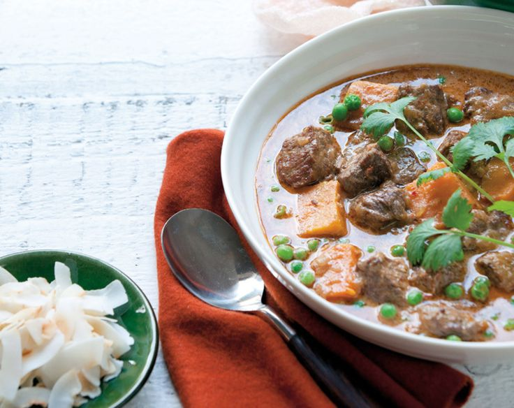 Thai Beef and Sweet Potato Curry