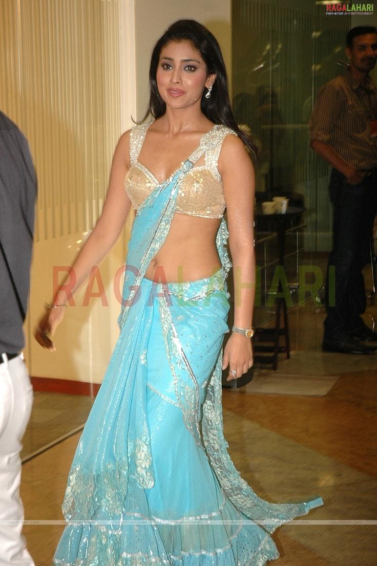 Shriya Saran at the 56th Idea Filmfare Award. LOVE her outfit :) So pretty!