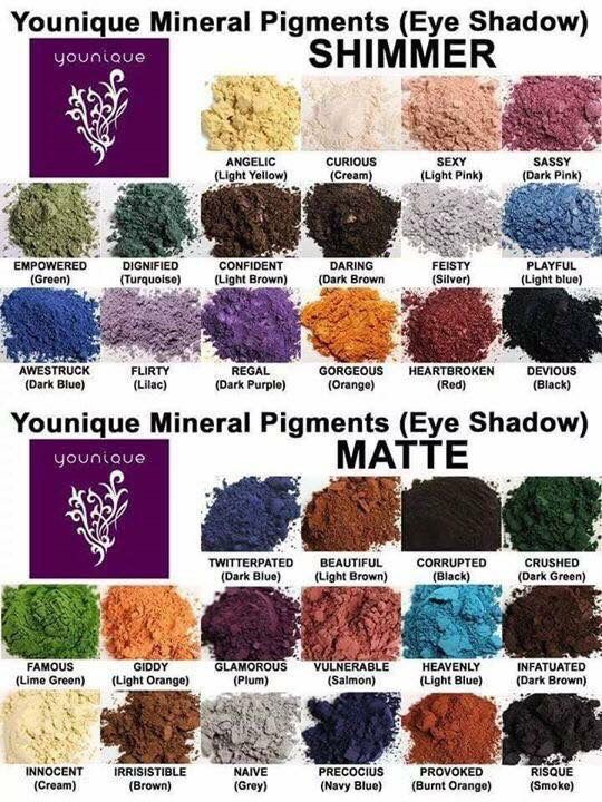 32 shades of pigments! I can not wait to collect all of them. check them out at www.amandajpowell.com