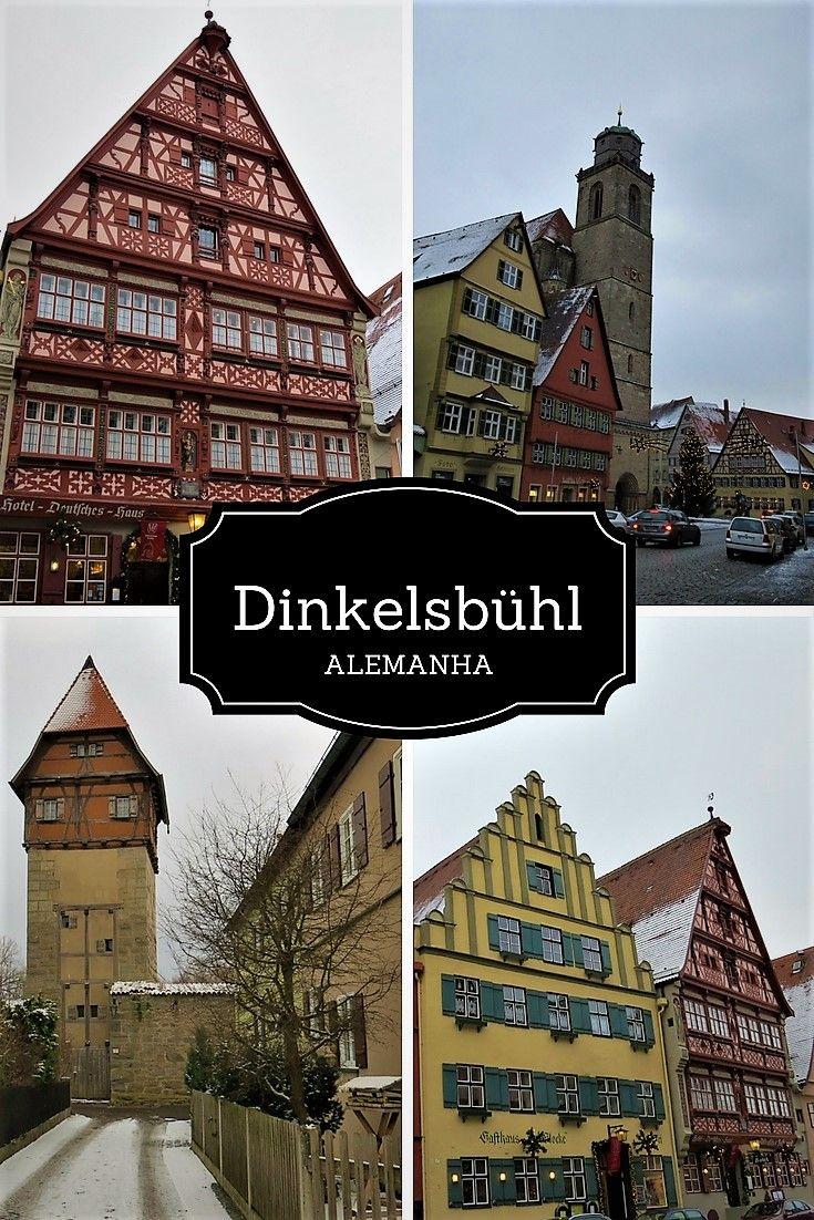 Linda cidade medieval da Alemanha. A cidade faz parte da Rota Romântica da Alemanha.