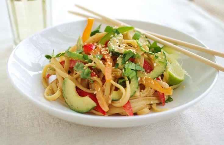 Recipe for peanut-sesame noodles - The Boston Globe