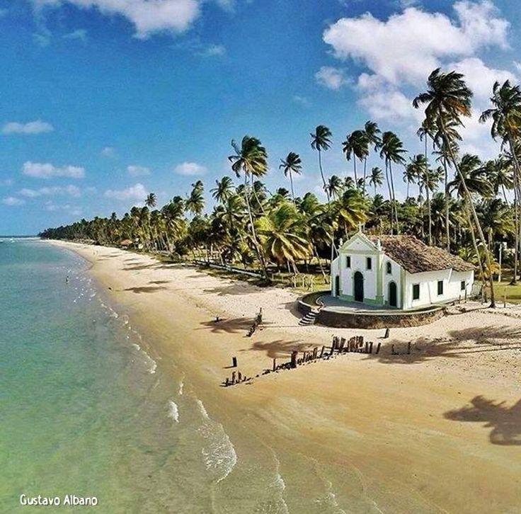 Praia dos Carneiros em Pernambuco clicada por Gustavo Albano.