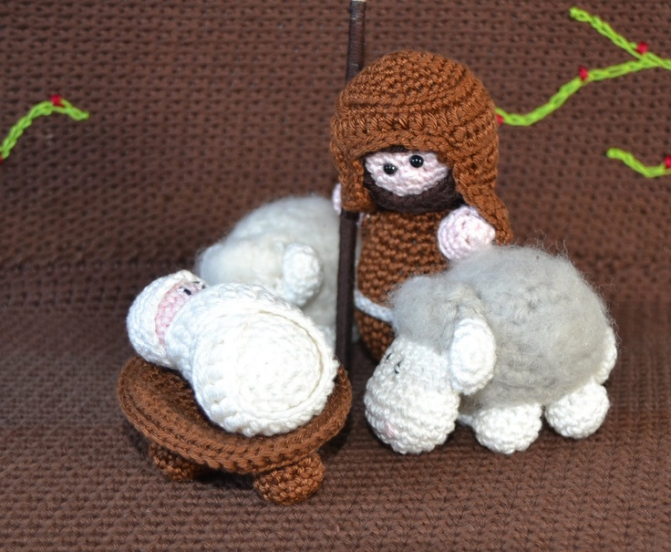 Free Amigurumi Nativity Pattern : Best nativity crochet images nativity sets