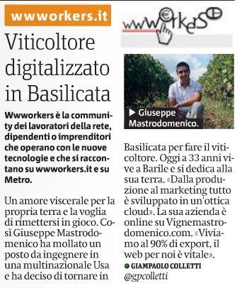 viticoltura digitalizzata e rispetto per la #natura