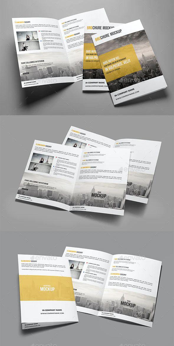 Brochure Mockup In 2021 Brochure Mockup Psd Mockup Brochures Mockups