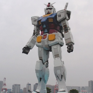 1/1 size Mobile Suit Gundam