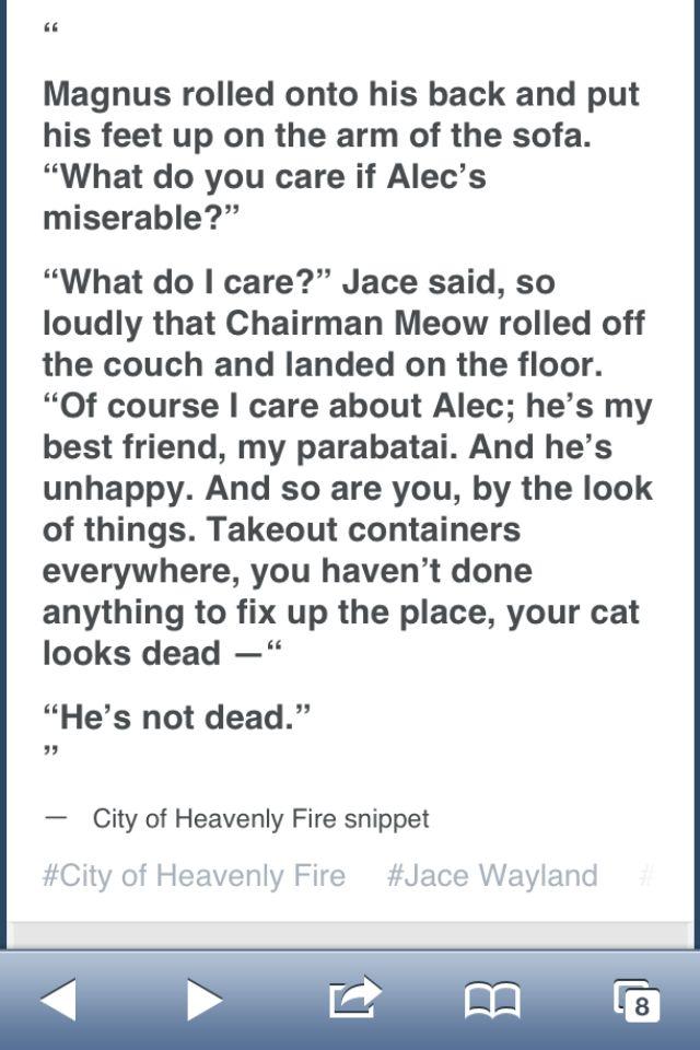 Oh God, Jace
