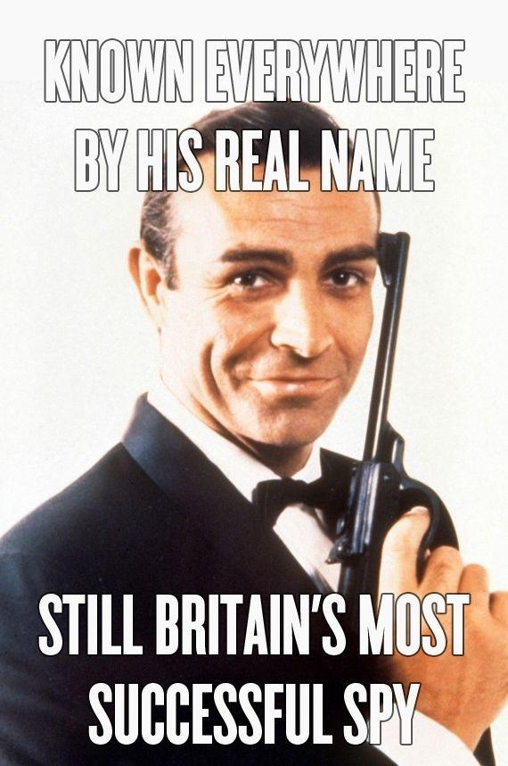 27bf52957630a495106b44e9ce7c69ea sean opry movie stars 91 best bond james bond images on pinterest james d'arcy,The Names Bond Meme
