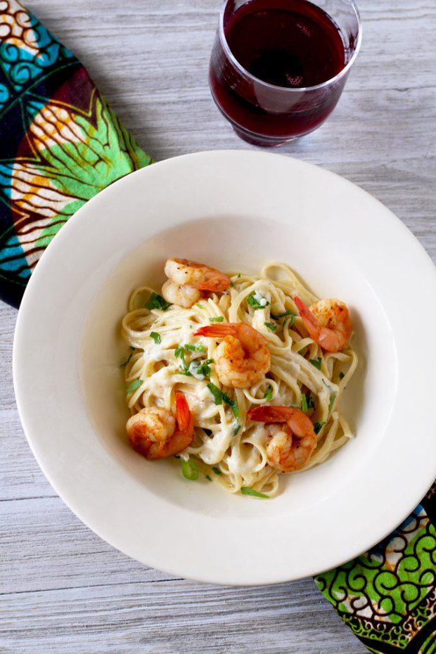 This Cajun Shrimp Alfredo Pasta is creamy, rich and flavorful with a bit of a kick! The best part is, you can have dinner on the table in under 30 minutes!!! It's the perfect quick and easy weeknight meal.
