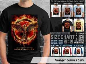 Kaos Hunger Games Mockingjay Couple, Kaos Film Hunger Games Anak-anak, Kaos Hunger Games Movie Couple Family, Kaos Hunger Games Terbaru