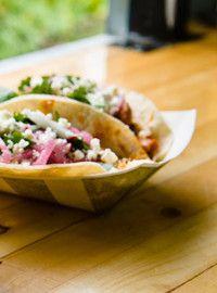 Tacos végétarien de Grumman