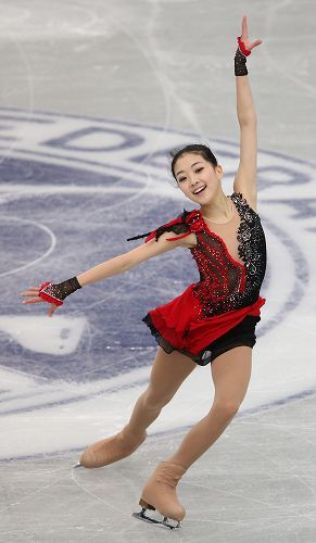 "Zijun Li | 2012-2013 ISU GP China SP ""Dark Eyes"""
