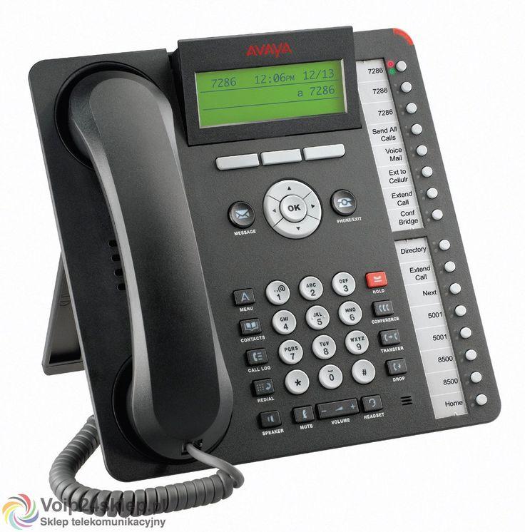 Telefon systemowy Voip Avaya 1616-I BLK voip24sklep.pl