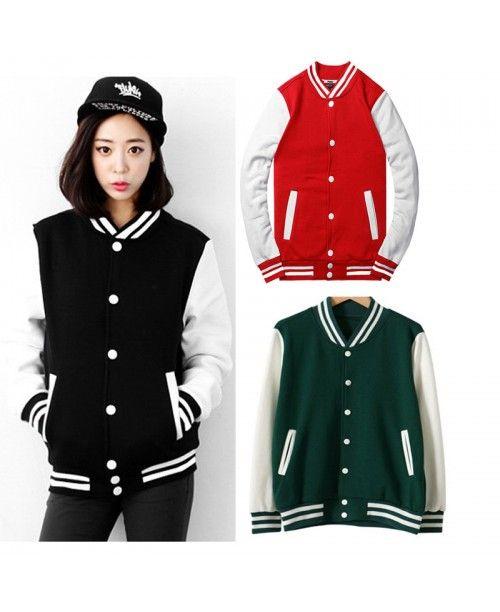 .Стильные молодежные для колледжа бейсбольные куртки двух цветные  в наличии  черно-белая , красно-белая,  зелено-белая.