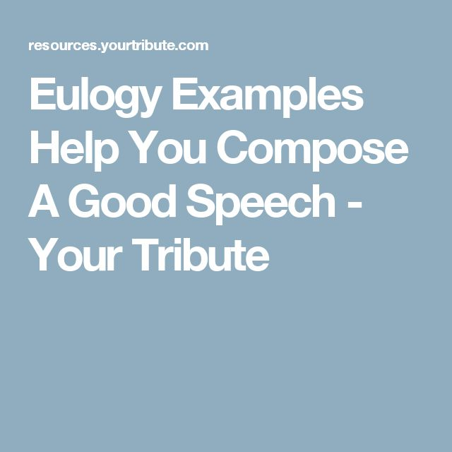 how to write a funeral speech for a friend