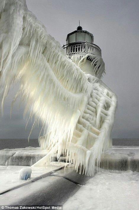 Lake Michigan (Polar Vortex 2014)