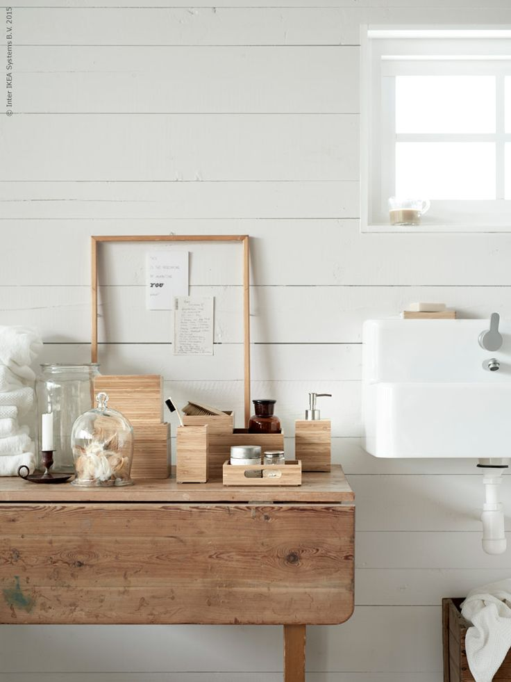 bathroom pinned by barefootblogin.com Naturligt vitt | Livet Hemma IKEA