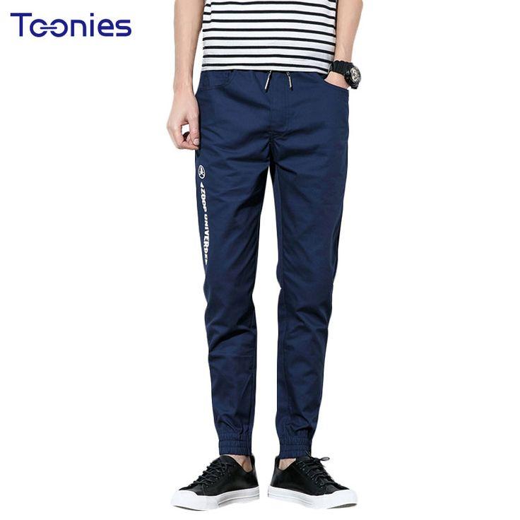 Sweat Pants for Men New Fashion Joggers Pants Casual Trousers Letter Printing Sportswear Male Harem Pants Elastic Waist Pantalon