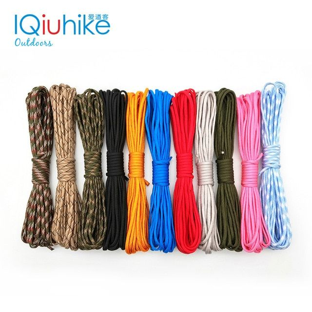 Iqiuhike 5 Meters Dia 4mm 7 Stand Cores Paracord For Survival