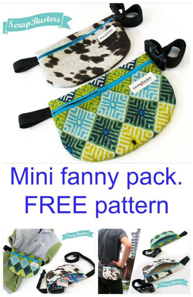 Mini fanny pack – free sample