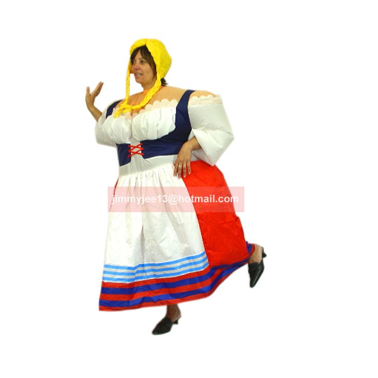 ==> [Free Shipping] Buy Best inflatable Germany Lady costume folk costume funny costume Beer Festival costume fancy dress air blown outfit promotion Online with LOWEST Price | 32781063432
