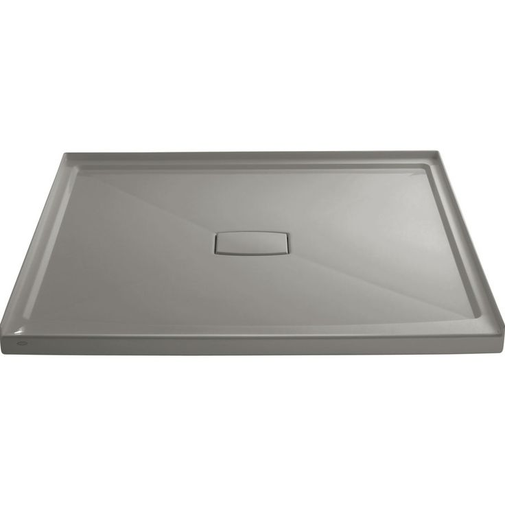 KOHLER Archer Cashmere Acrylic Shower Base (Common: 60-in W x 60-in L; Actual: 60-in W x 60-in L)