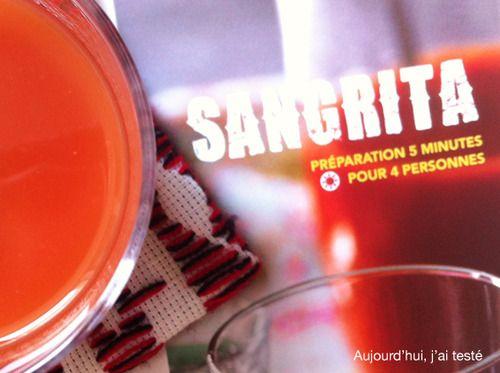 Sangrita with Tequila, on Aujourd'hui, j'ai testé