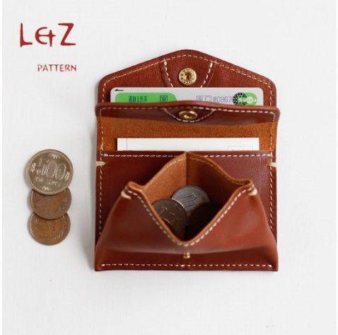 bag sewing patterns change purse bag patterns leather bag patterns PDF CLD-09 LZpattern Leather Edger Polisher Beveler Awl Punch Chisel