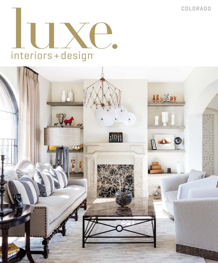 26 best luxe covers images on pinterest insight - Home and architectural trends magazine ...
