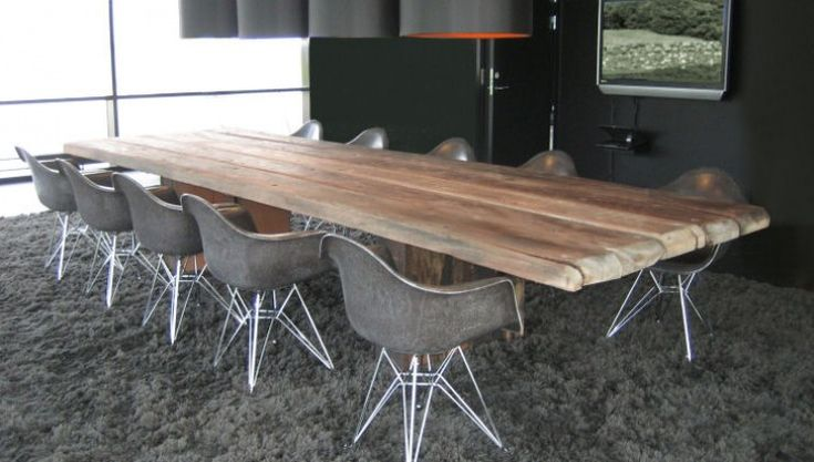 THORS Uniq as a conference table #boardroom #conferencetable #sustainablehospitality #hospitalityfurniture