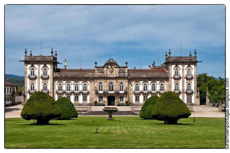 Brejoeira Palace, Monçao #portugal. Grand history and a world heritage treasure. A must see )