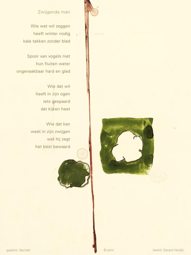 gedicht: Bernlef / beeld: Gerard Verdijk © plint