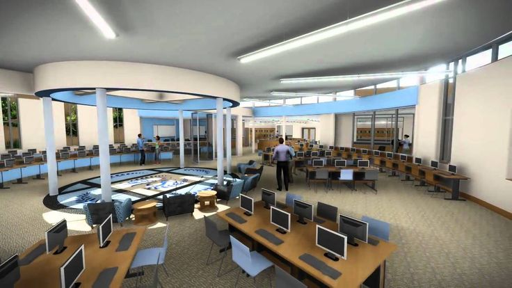 Woodland Hills High School Library Design Competition