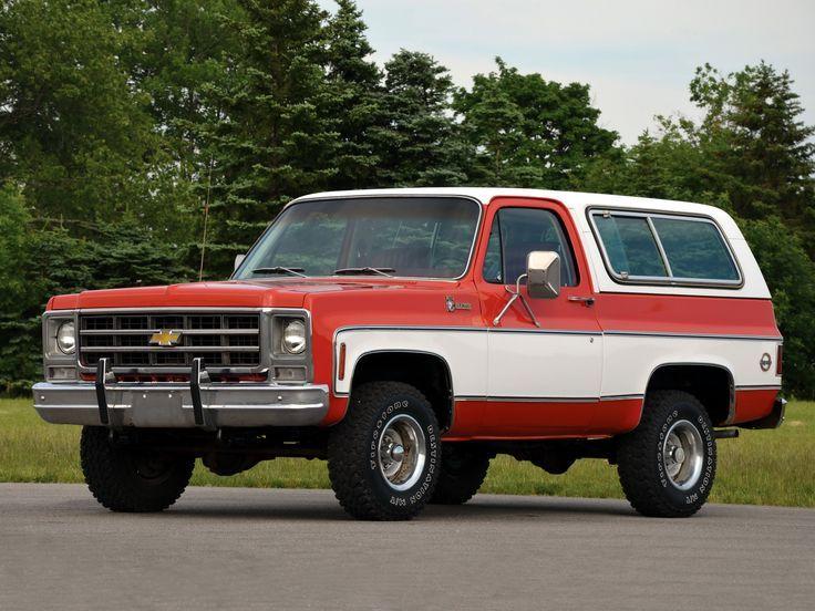 K5 Chevy Blazer Chevrolet Blazer Chevrolet K5 Blazer