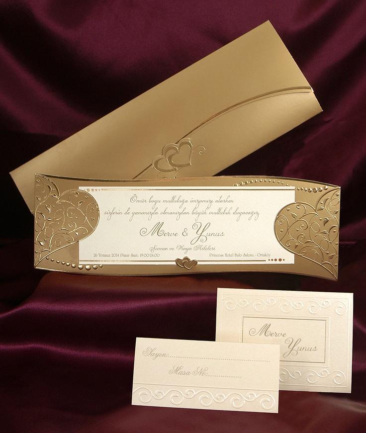 Wedding invitation cards 3592 Sedef Düğün davetiyesi www.sedefcards.com