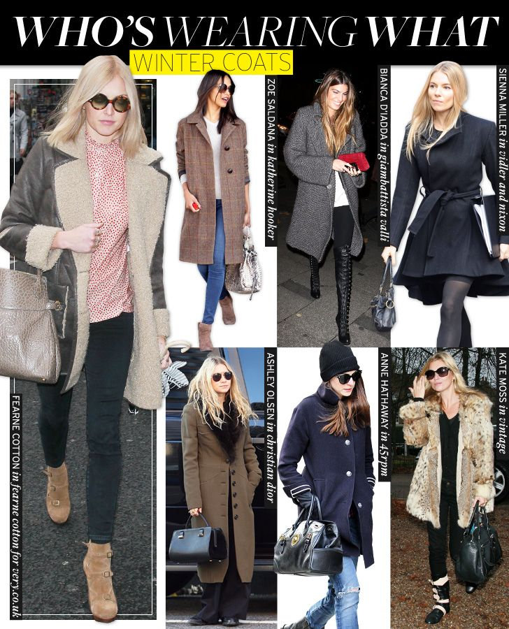 7 Cool Winter Coats That Are Celeb-Approved | Who What Wear