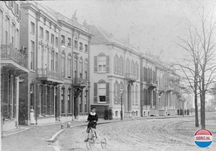 Het meest zuidelijke deel van de Eusebiusbuitensingel, in 1880