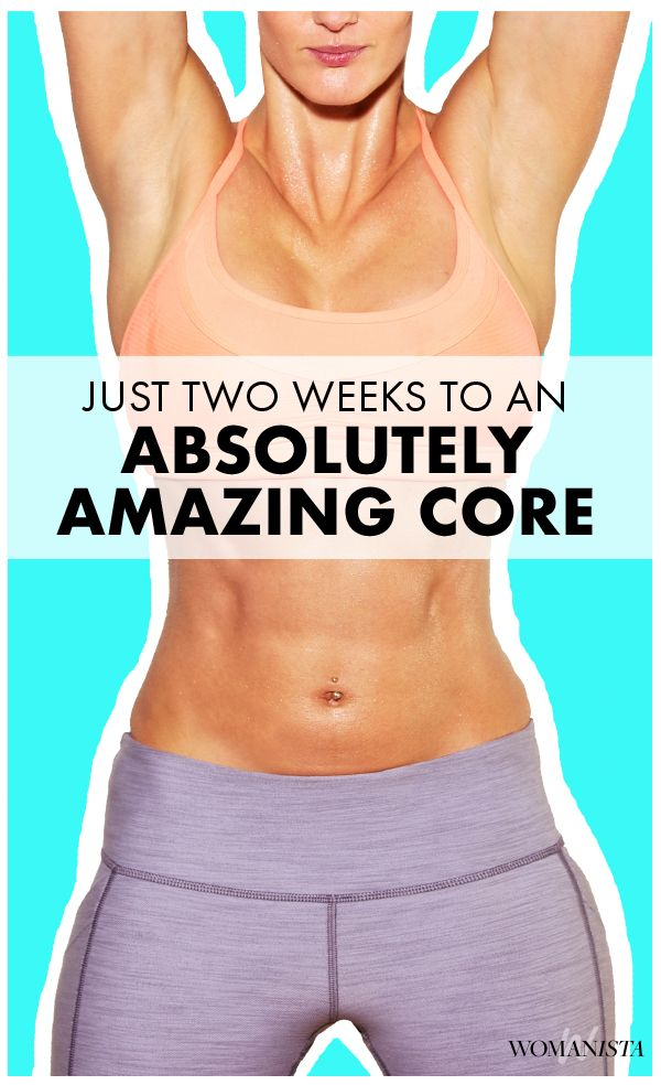 We've got good news and bad news: The good news is that you can significantly improve your abs in just two weeks. The bad news is that it doesn't come without sacrifice. Find out how you can get an ABSoltutely amazing core! Womanista.com