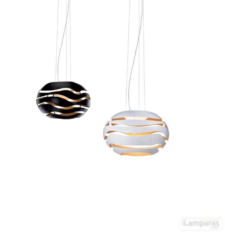 tree series s lampara colgante 50 blanca (TRE00510000) - DAB / iLamparas.com