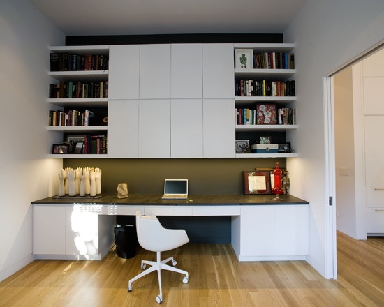 35 liberty street modern home office san francisco todd davis architecture - Modern Home Office Guest Room