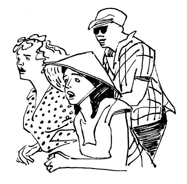 Виталий Николаевич Горяев (1910–1982 гг). | Иллюстрации к «Одноэтажной Америке» Ильфа и Петрова | Любители американского футбола